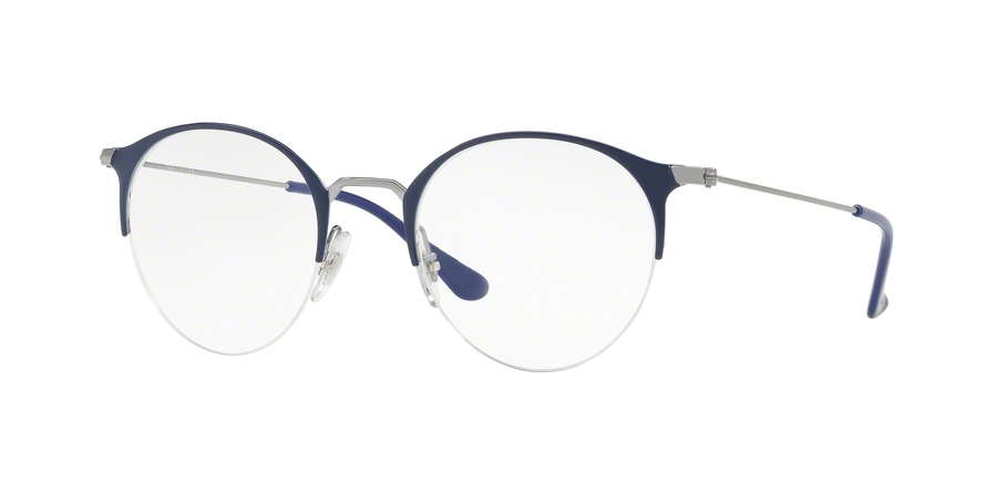 RAY-BAN RX3578V style-color 2906 Gunmetal / Shiny Blue