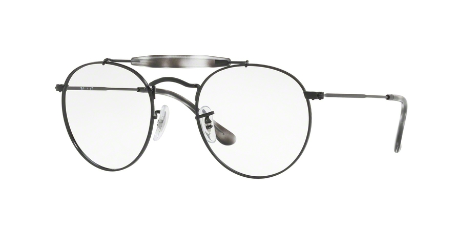 RAY-BAN RX3747V style-color 2760 Demigloss Black