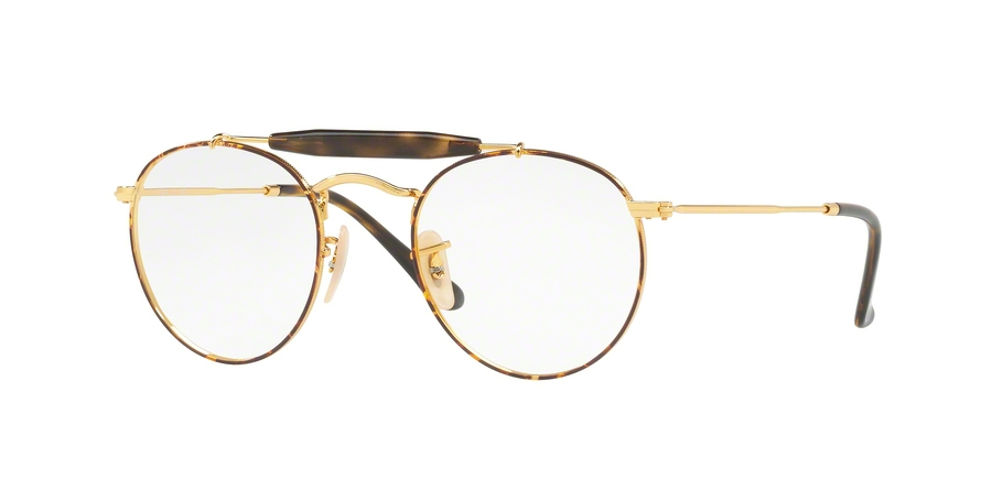 RAY-BAN RX3747V style-color 2945 Gold Top Havana