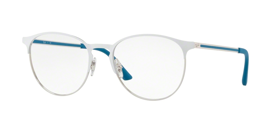 RAY-BAN RX6375 style-color 2948 Silver Top ON White