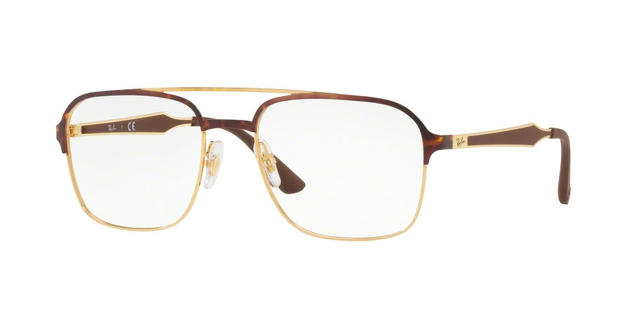 RAY-BAN RX6404 style-color 2917 Gold / Havana