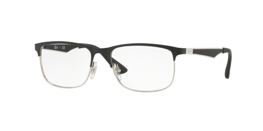 RAY-BAN RY1052 style-color 4055 Silver Top Matte Black