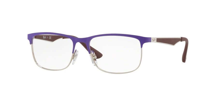 RAY-BAN RY1052 style-color 4056 Silver Top Matte Violet