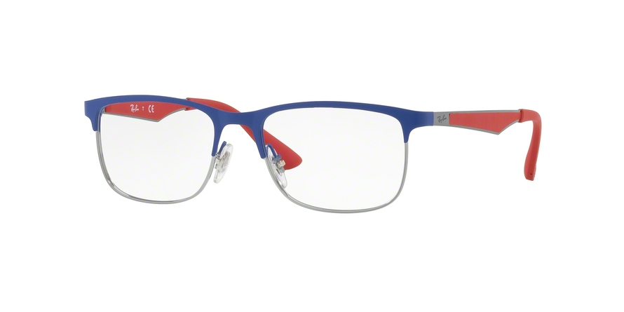 RAY-BAN RY1052 style-color 4057 Gunmetal Matte Blue