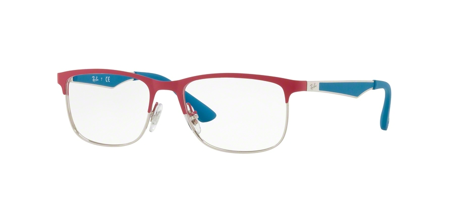 RAY-BAN RY1052 style-color 4058 Silver Matte Fuxia