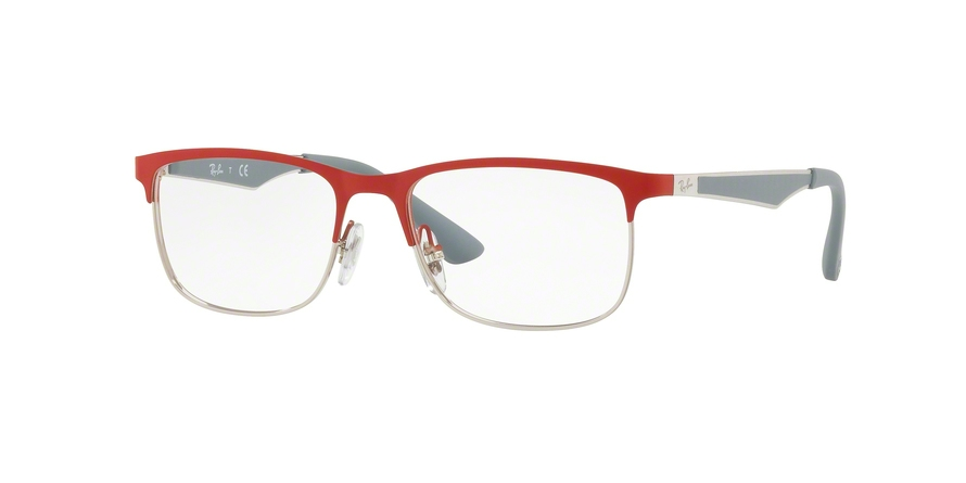 RAY-BAN RY1052 style-color 4059 Silver Matte Red