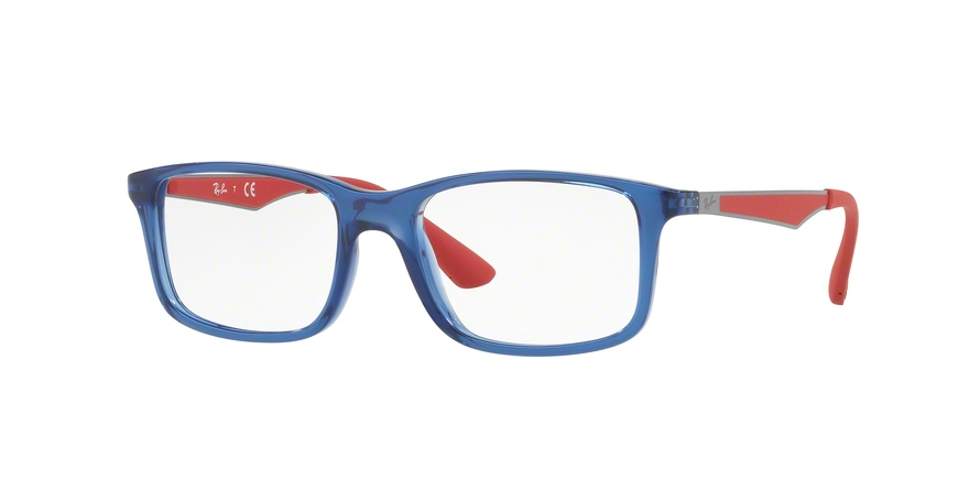 RAY-BAN RY1570 style-color 3721 Trasparent Blue