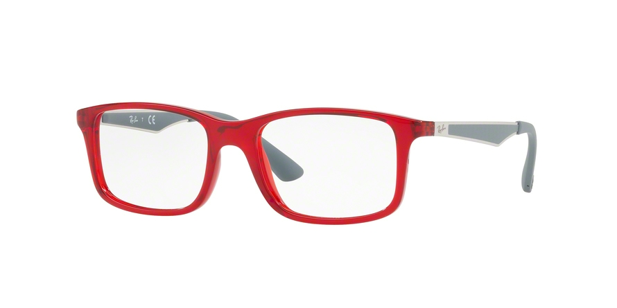 RAY-BAN RY1570 style-color 3723 Trasparent Red