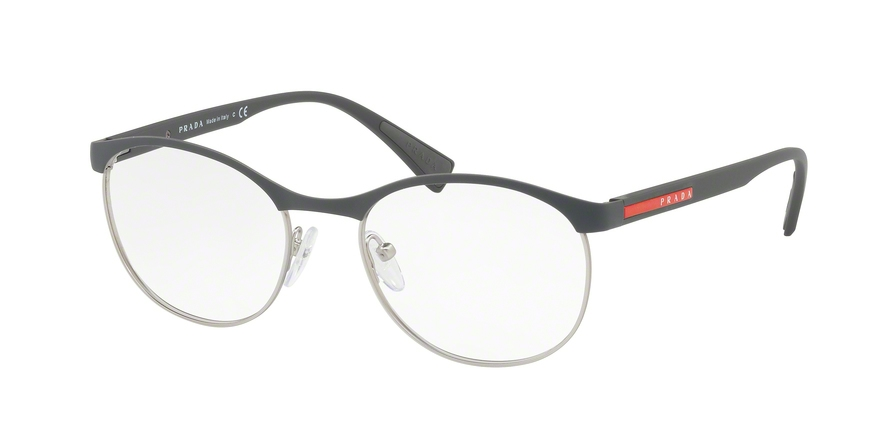 PRADA LINEA ROSSA PS 50IV style-color TFZ1O1 Grey Rubber / Silver