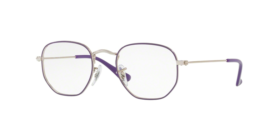 RAY-BAN RY9541V JUNIOR HEXAGONAL style-color 4061 Silver Top Violet