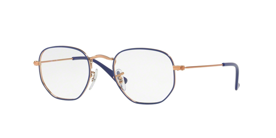 RAY-BAN RY9541V JUNIOR HEXAGONAL style-color 4063 Copper ON Blue