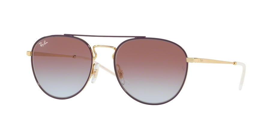 RAY-BAN RB3589 style-color 9059I8 Gold Top ON Violet