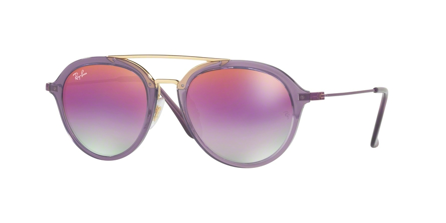 RAY-BAN RJ9065S style-color 7036A9 Trasparent Violet