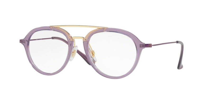 RAY-BAN RY9065V style-color 3742 Trasparent Violet