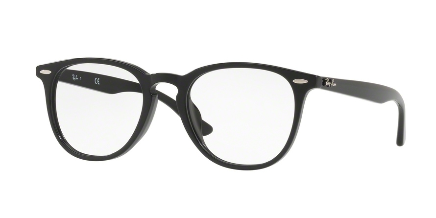 RAY-BAN RX7159F ASIAN FIT style-color 2000 Black