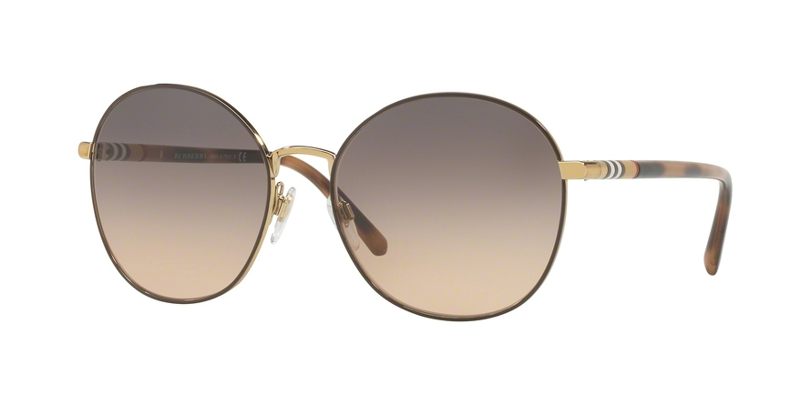 BURBERRY BE3094 style-color 1257G9 Light Gold