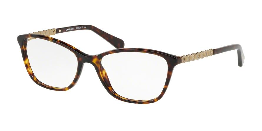 COACH HC6121F ASIAN FIT style-color 5485 Dark Tortoise