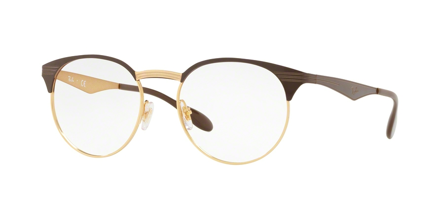 RAY-BAN RX6406 style-color 2905 Gold / Shiny Brown