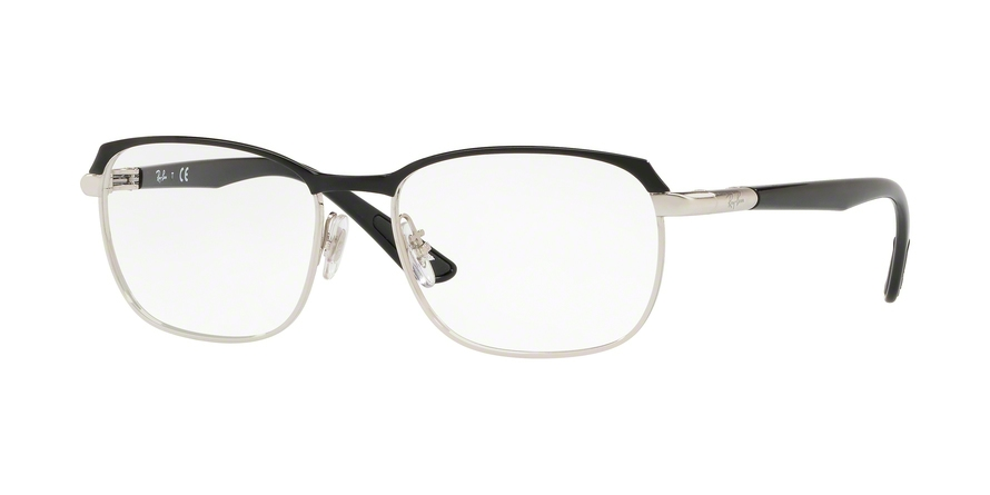 RAY-BAN RX6420 style-color 2861 Silver ON Top Black