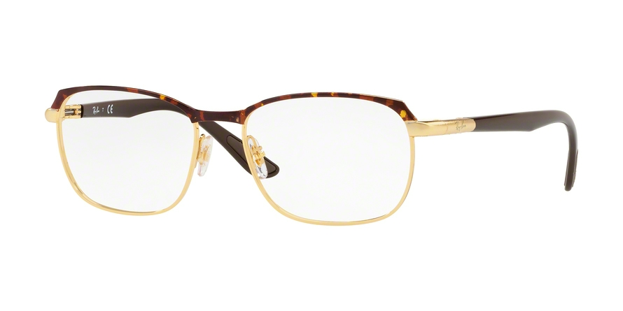 RAY-BAN RX6420 style-color 2917 Gold / Havana