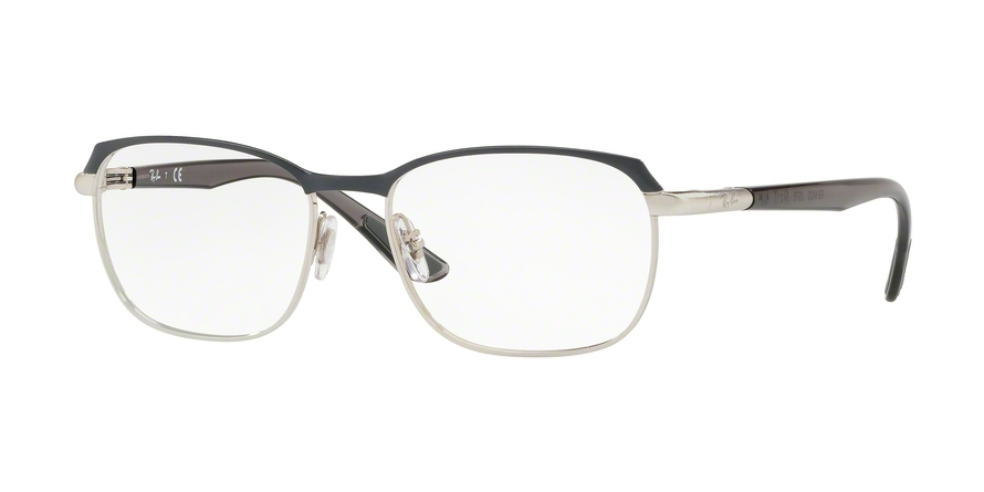RAY-BAN RX6420 style-color 2976 Silver Top ON Grey