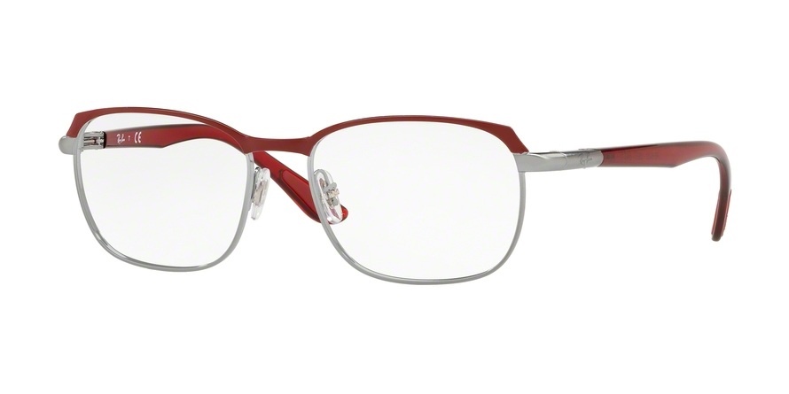 RAY-BAN RX6420 style-color 2977 Gunmetal Top Bordeaux