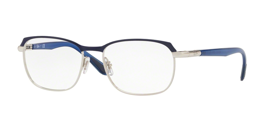 RAY-BAN RX6420 style-color 2978 Silver Top Blue
