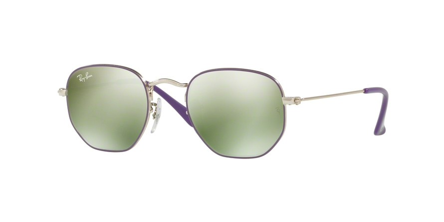 RAY-BAN RJ9541SN JUNIOR HEXAGONAL style-color 262/30 Silver Top Violet