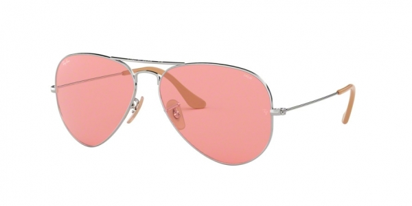 RAY-BAN RB3025 AVIATOR LARGE METAL style-color 9065V7 Silver