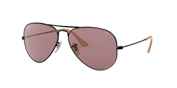 RAY-BAN RB3025 AVIATOR LARGE METAL style-color 9066Z0 Balck