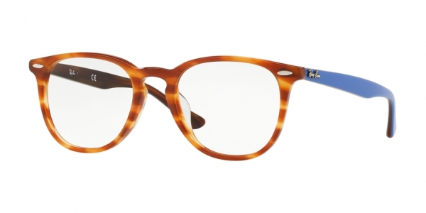 RAY-BAN RX7159F ASIAN FIT style-color 5799 Havana Light Brown