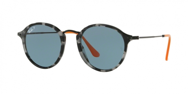 RAY-BAN RB2447 ROUND/CLASSIC style-color 124652 Grey Havana