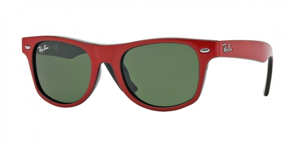 RAY-BAN RJ9035S JUNIOR WAYFARER style-color 162/71 Top Red ON Black