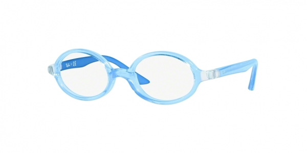 RAY-BAN RY1545 style-color 3772 Light Blue ON Rubber Red