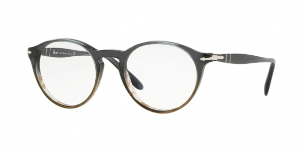 PERSOL PO3092V style-color 9053 Grad Grey Striped Green
