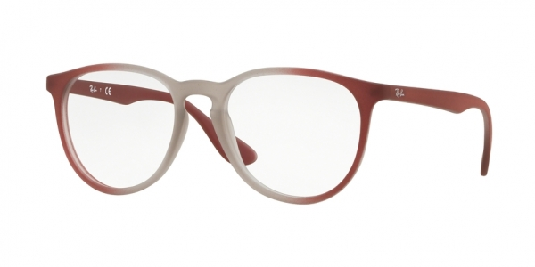 RAY-BAN RX7046 style-color 5819 Light Brown ON Brordeaux Gradi