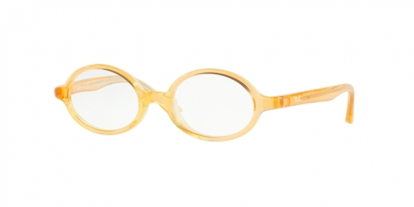 RAY-BAN RY1545 style-color 3771 Light Orange ON Rubber Yellow