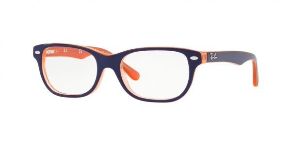 RAY-BAN RY1555 style-color 3762 Trasp Orange ON Top Blue