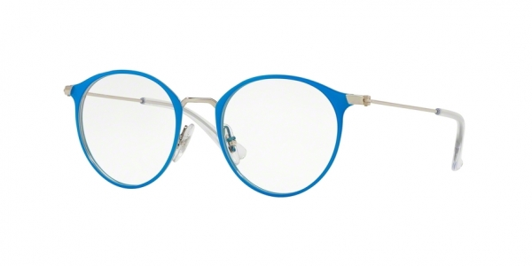 RAY-BAN RY1053 style-color 4068 Silver ON Top Light Blue