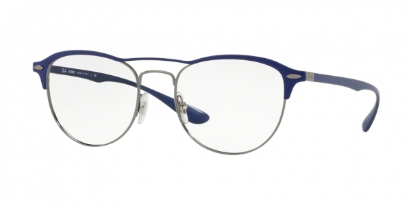 RAY-BAN RX3596V style-color 2996 Gunmetal ON Top Matte Blue