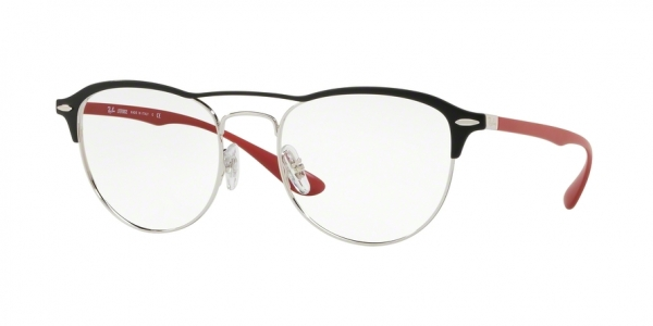 RAY-BAN RX3596V style-color 2997 Silver Top ON Matte Black