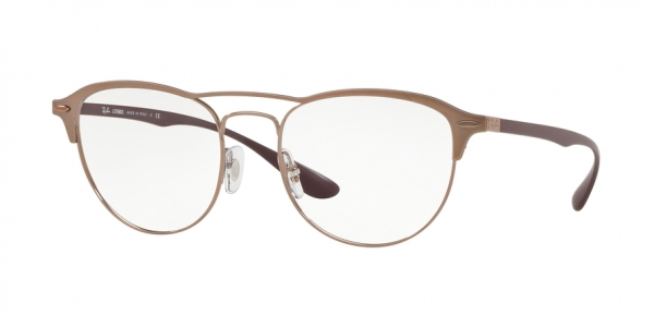 RAY-BAN RX3596V style-color 2998 Light Brown Top ON Matte