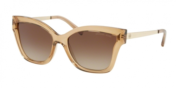 MICHAEL KORS MK2072 BARBADOS style-color 335513 Light Brown Crystal Injected