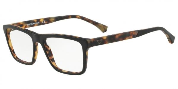 EMPORIO ARMANI EA3138 style-color 5701 Top Black ON Matte Havana
