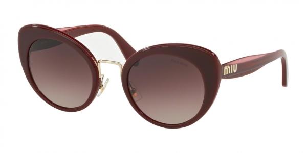MIU MIU MU 06TS style-color 40Z150 Garnet Top Opal Bordeaux