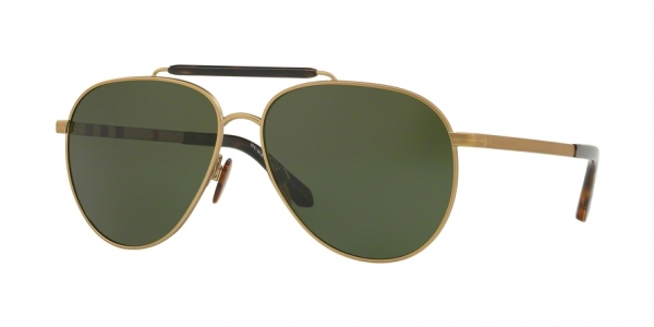 BURBERRY BE3097 style-color 127171 Matte Light Gold