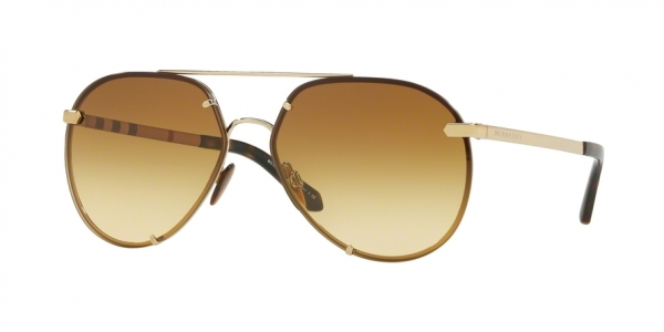 BURBERRY BE3099 style-color 11452L Light Gold