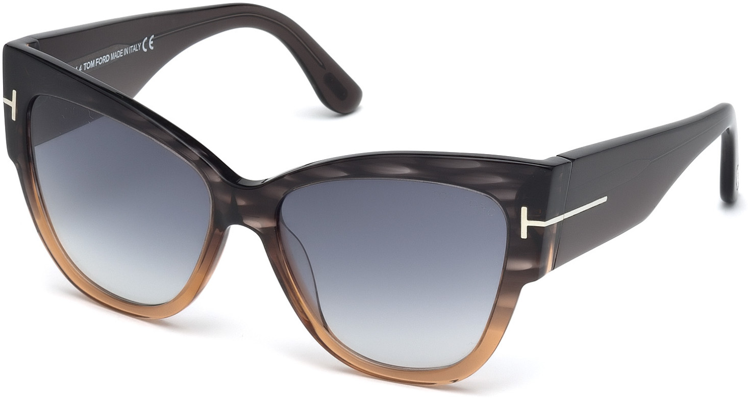 TOM FORD ANOUSHKA FT0371 style-color 20B   - grey/other / gradient smoke