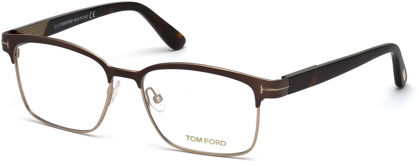 TOM FORD FT5323 style-color 048   - shiny dark brown