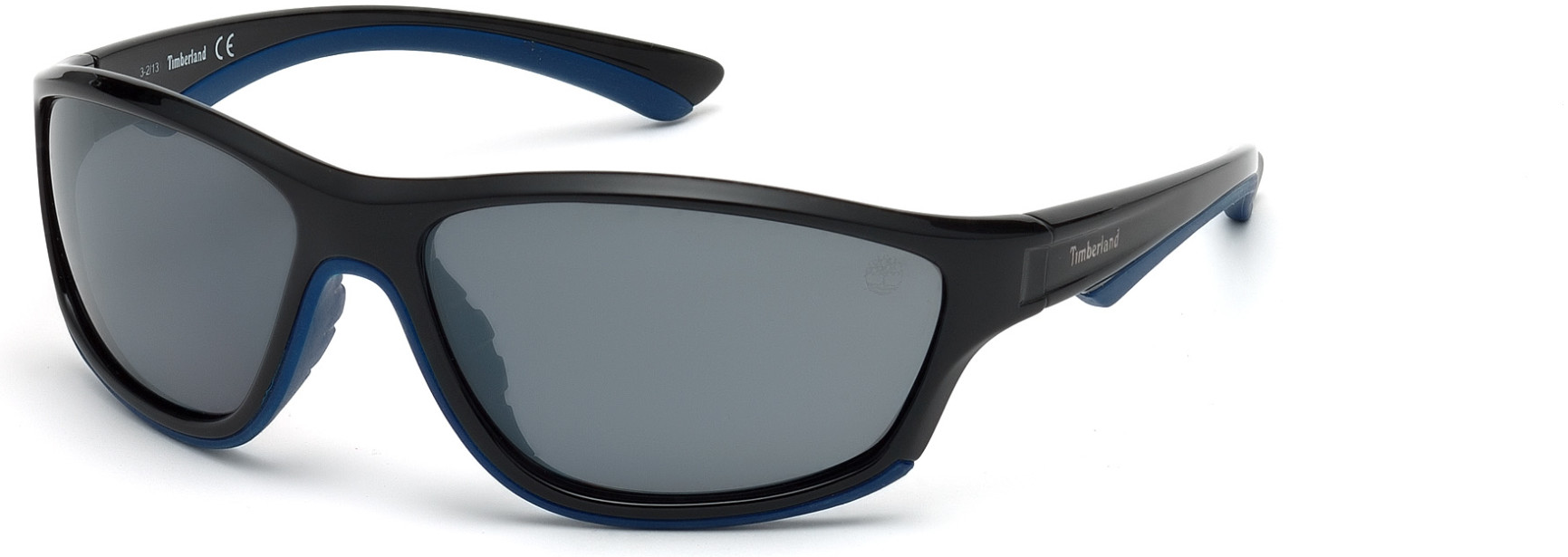 TIMBERLAND TB9045 style-color 01D - shiny black / smoke polarized